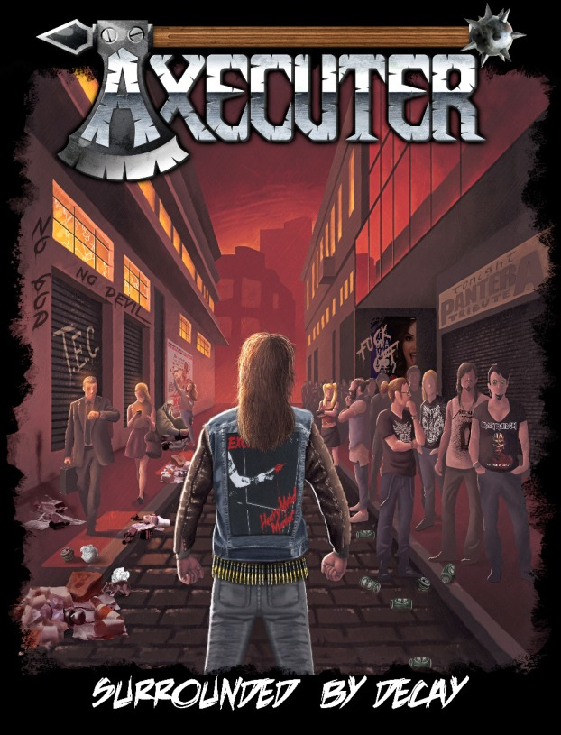 AXECUTER_Camisetas_Surrounded_By_Decay