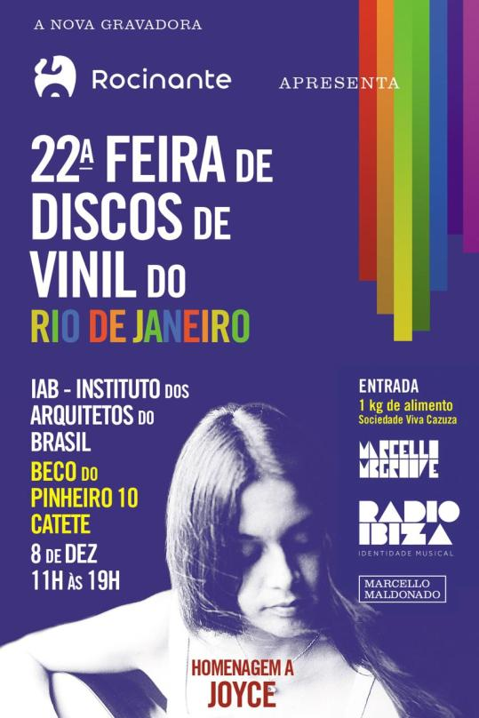 flyer feira do vinil