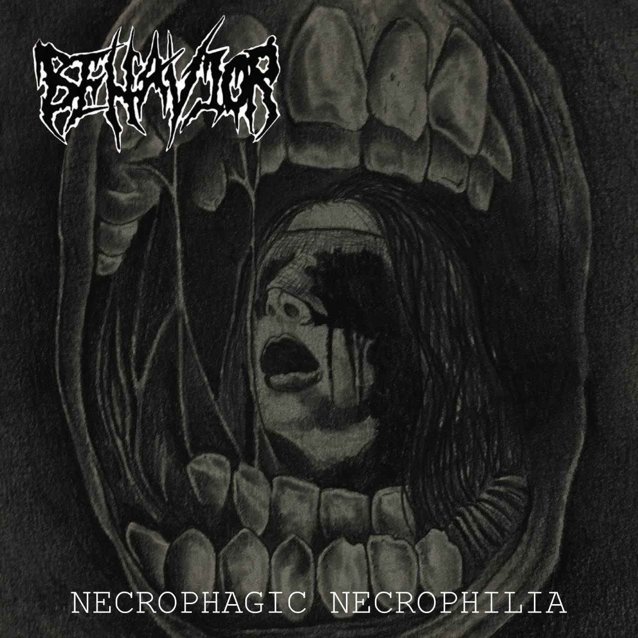 BEHAVIOR_Necrophagic_Necrophilia_Cover