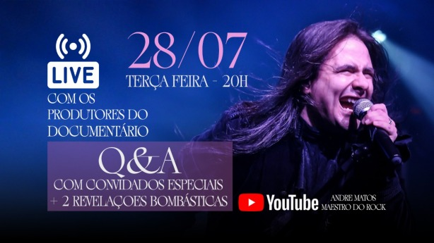 Andre Matos Maestro do Rock Live Q&A