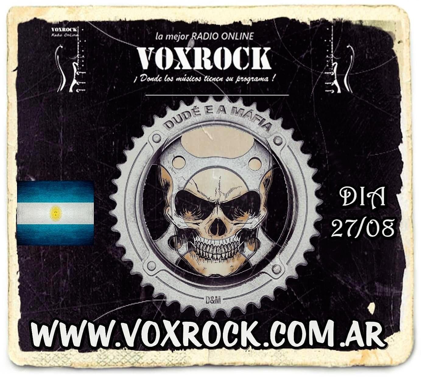 dude e a mafia vox rock argentina